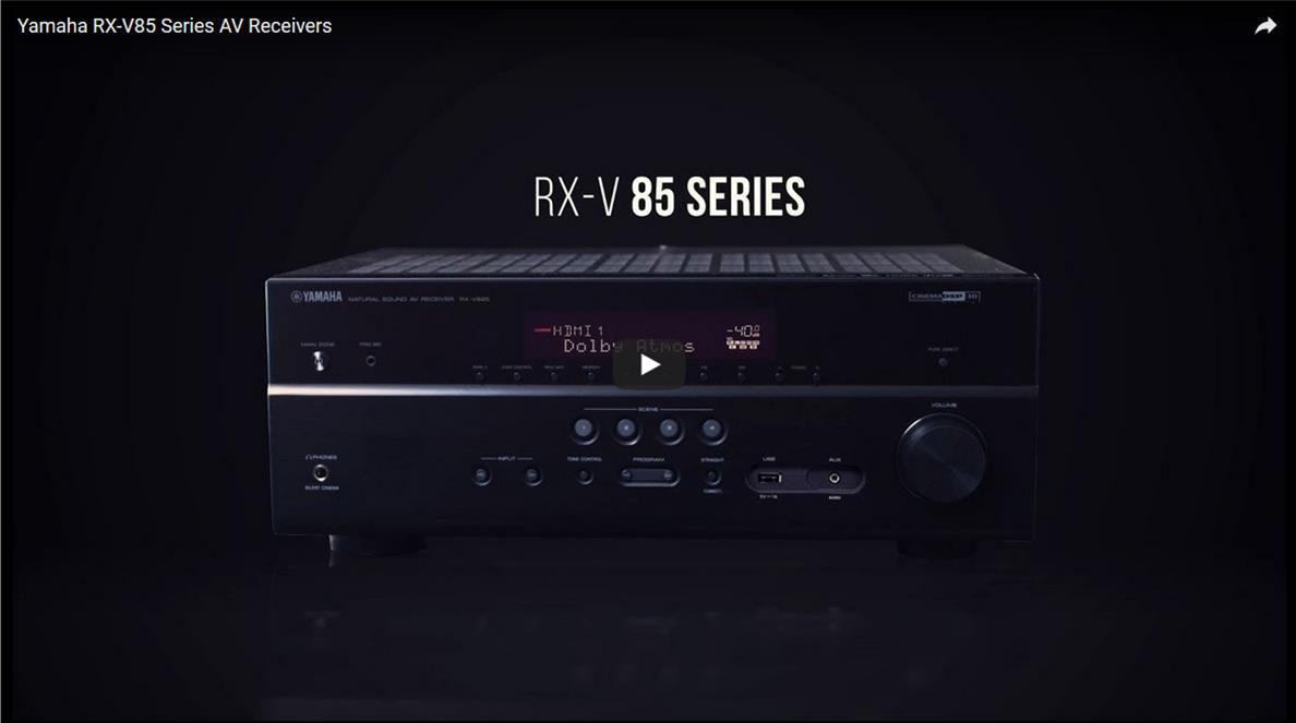 RXV85 Series Video Screen Grab