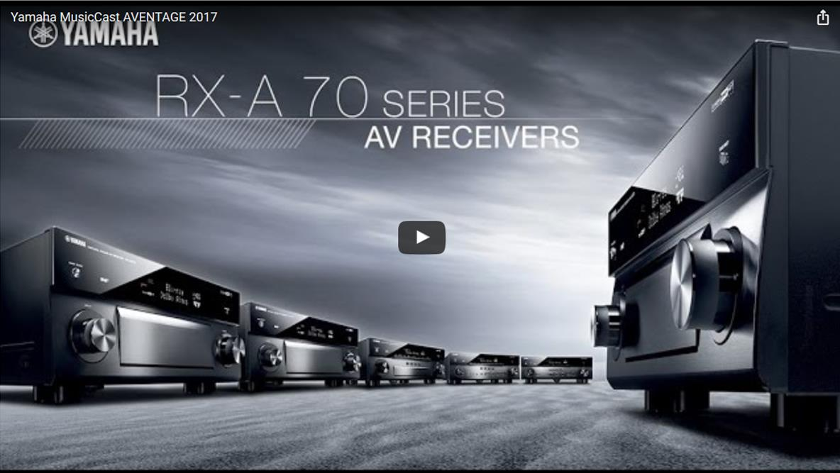 Yamaha RXA70 Series Video Grab